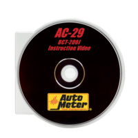 AUTOMETER AC-29 DVD Instruction Video For The BCT-200J