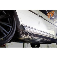 IPE EXHAUST Mufflers with Tips FOR  Mercedes-Benz / AMG G500 (W463)
