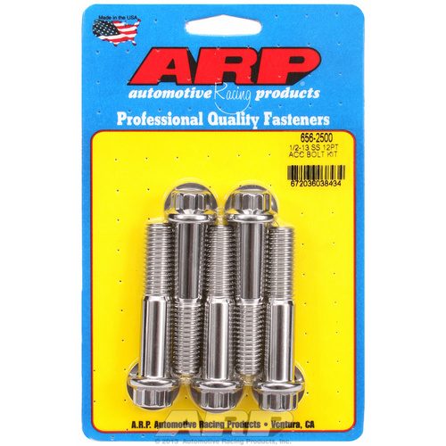 ARP FOR 1/2-13 x 2.500 12pt SS bolts