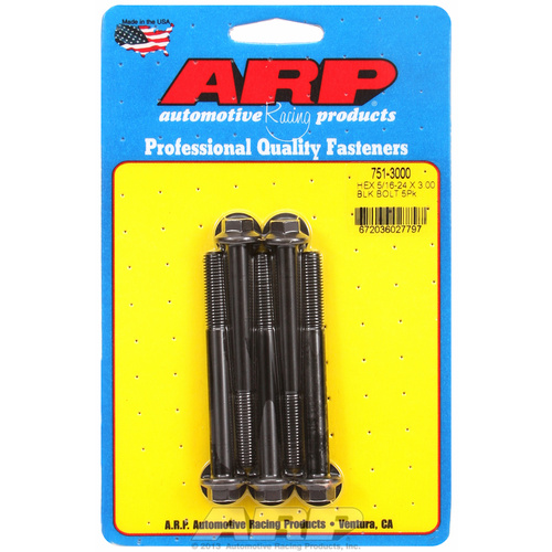 ARP FOR 5/16-24 x 3.000 hex black oxide bolts